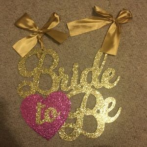 Other - Bride to be banner
